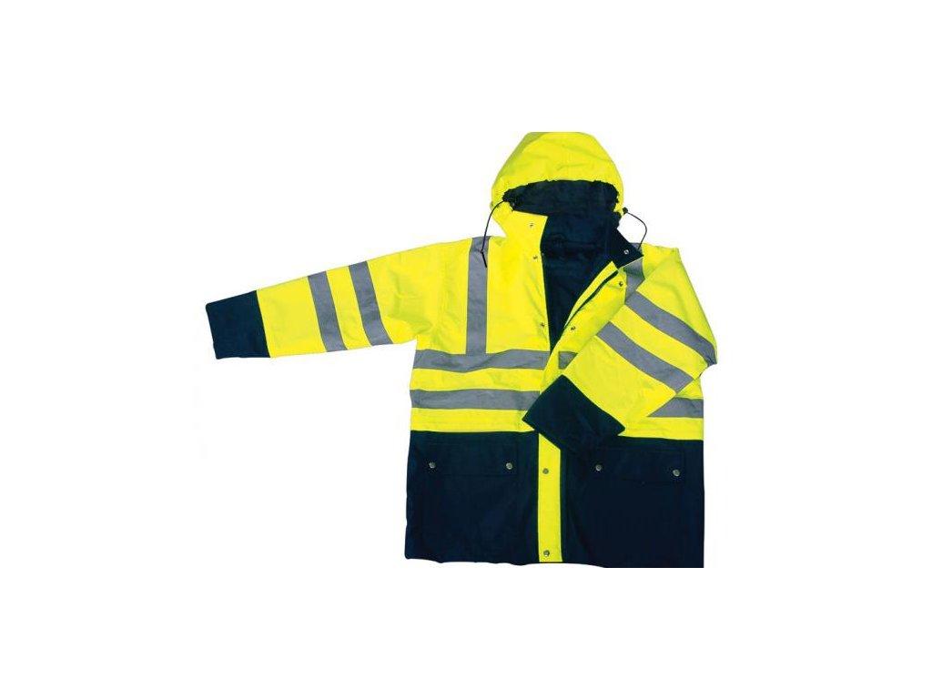 Signálna bunda žltá - XXL