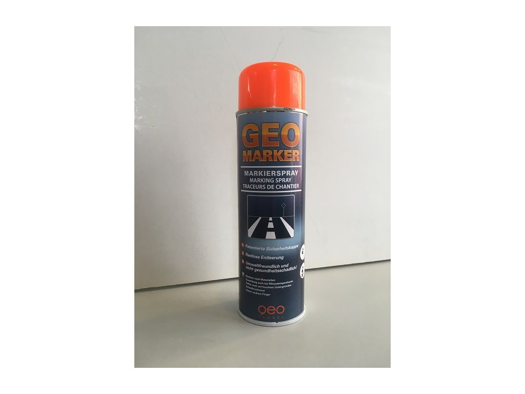 Značkovací sprej - oranžový