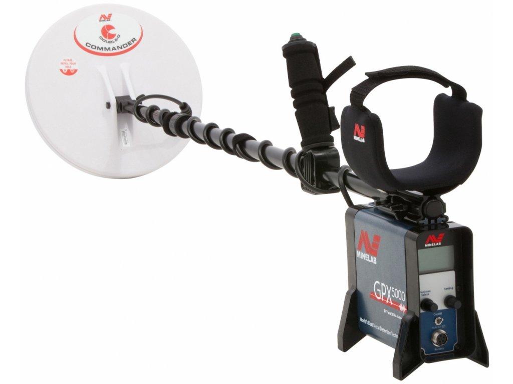 Detektor kovov Minelab GPX 5000 Pro Pack