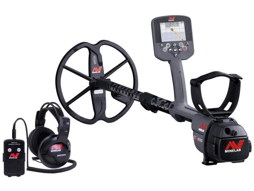 Detektor kovov Minelab CTX 3030 profesional
