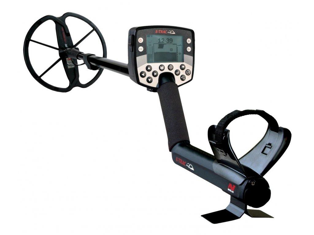 Detektor kovov Minelab E-Trac plus