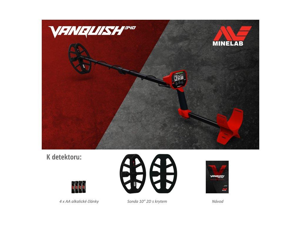 Detektor Minelab Vanquish 340
