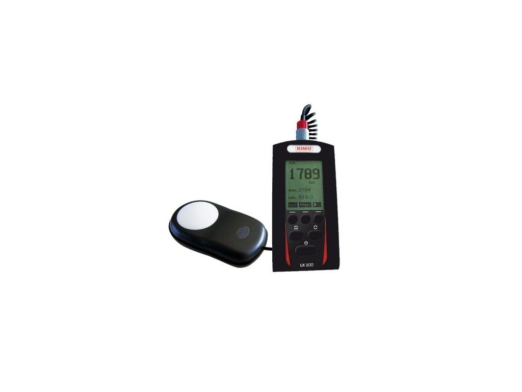 Luxmeter KIMO LX200 - s pamäťou pre dlhodobé merania
