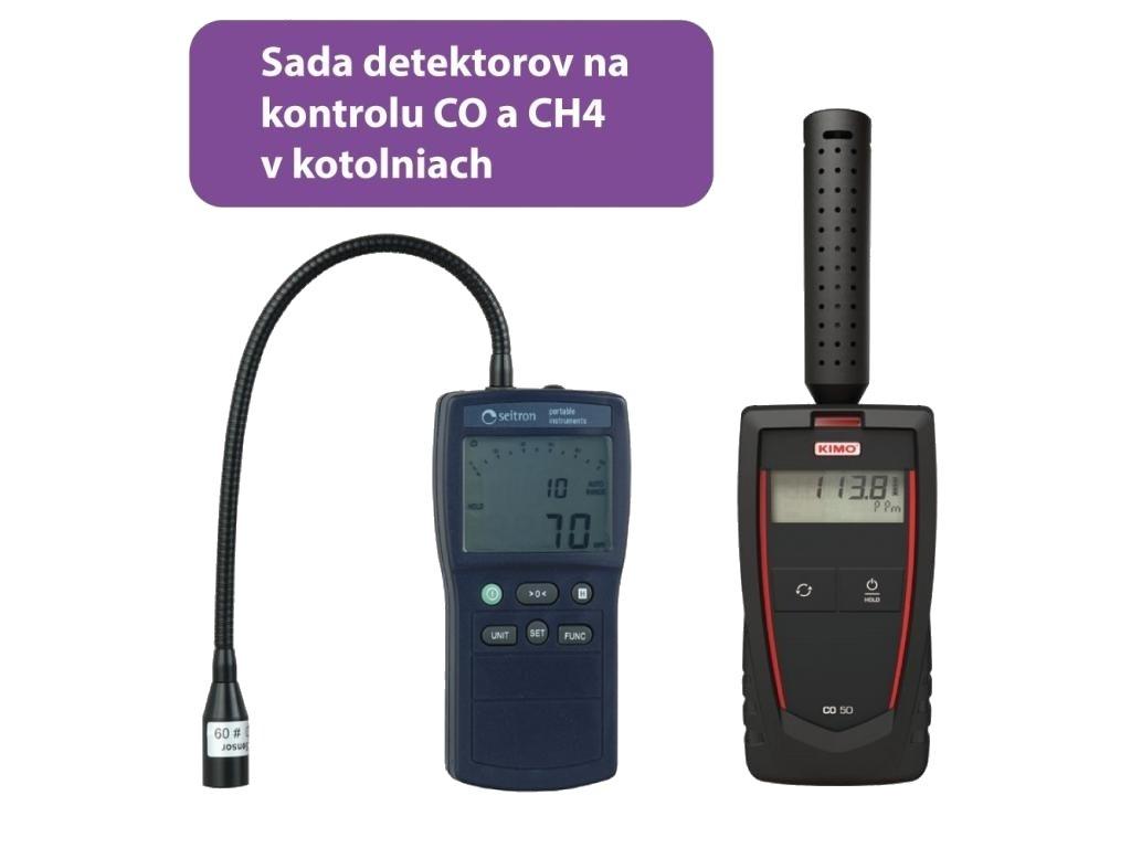 Sada na detekciu Gas Sniffer B10 + CO50