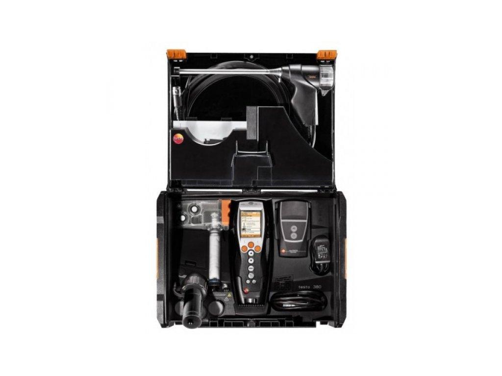 Testo 380 systém merania prachových častíc