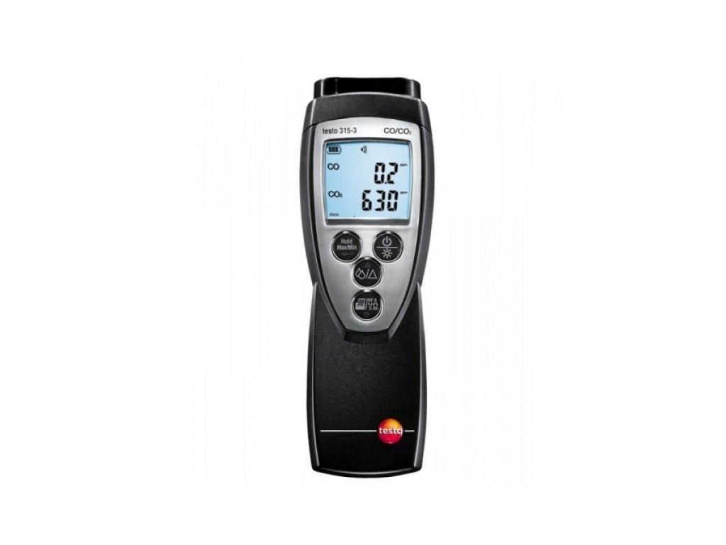 testo 315-3 analyzátor CO/CO2 s Bluetooth