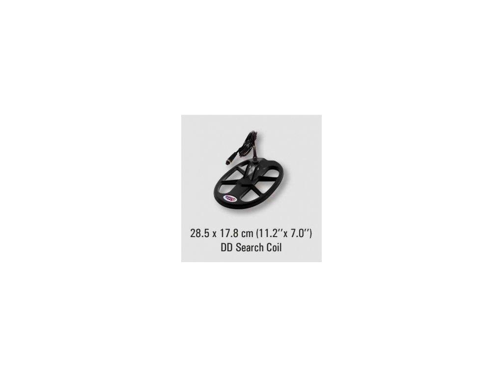 Sonda 28.5x17.8cm pre Nokta Fors CoRe