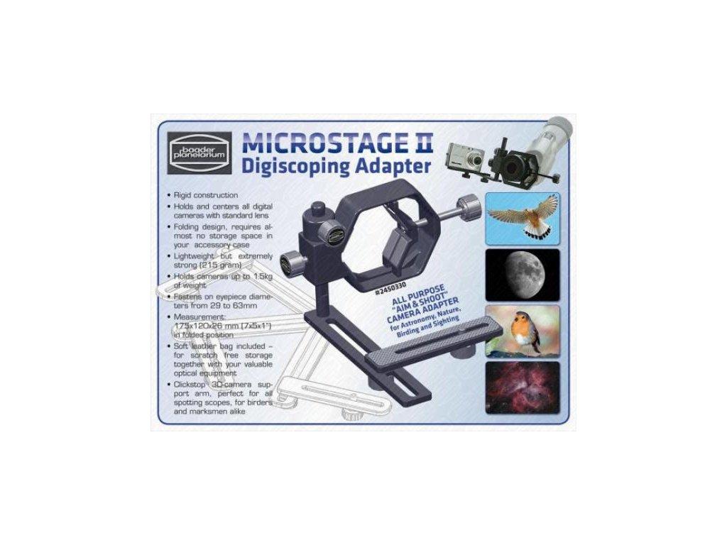 Adaptér Clickstop (MicroStage II)