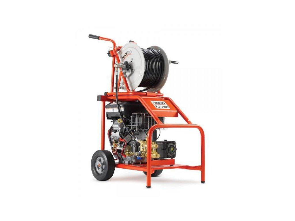 RIDGID KJ-3100 Motorová tlaková vodná čistička pre potrubia 50-250 mm