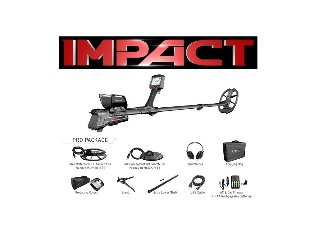Detektor kovov Nokta Impact Pro