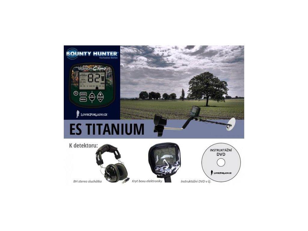 Detektor kovov Bounty Hunter ES Titanium