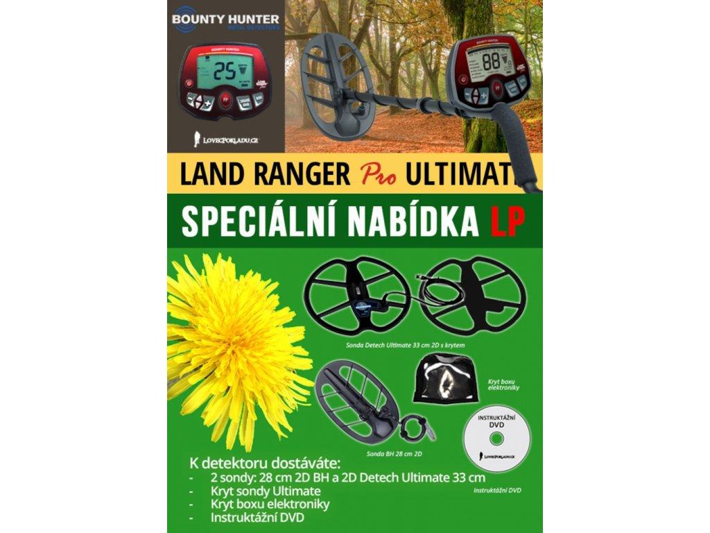 Detektor kovov Bounty Hunter Land Ranger Pro TORNADO