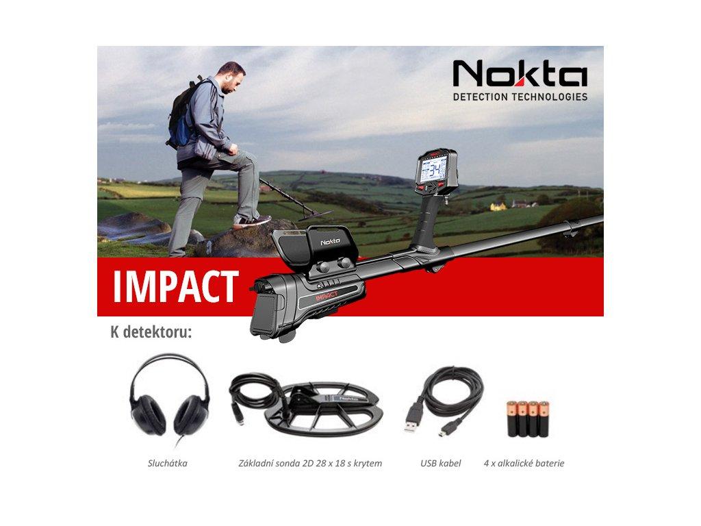Detektor kovov Nokta Impact new