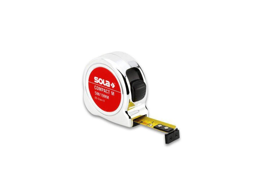 Zvinovací Meter Sola Compact 5 m s magnetickým háčikom