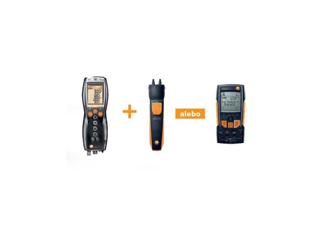 testo 330-2LL analyzátor spalín SET + Bluetooth - Akciový SET