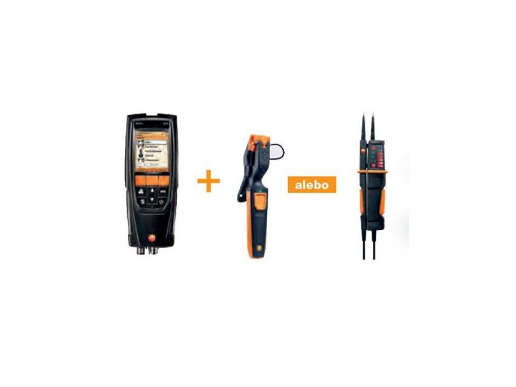 testo 320 analyzátor spalín s Bluetooth - Akciový SET