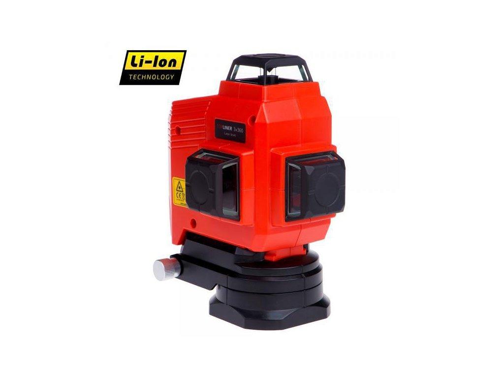 Krížový laser ADA TOPLINER 3 x 360