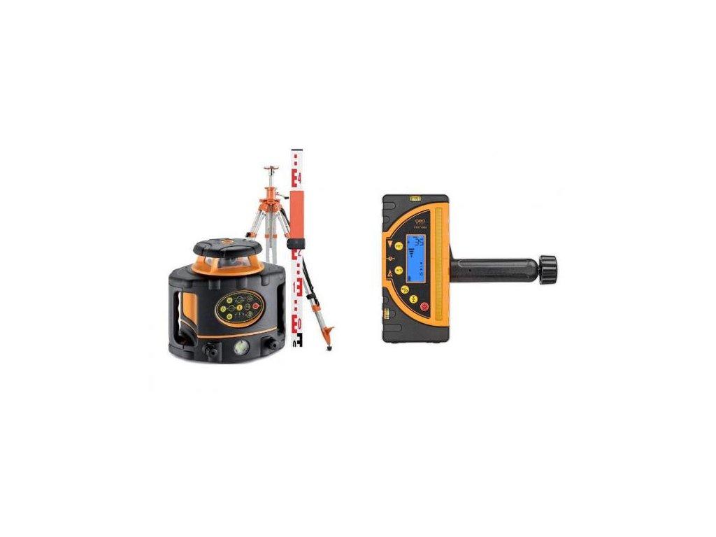 Rotačny laser Geofennel FL 265VA sada s profi (mm) prijímačom