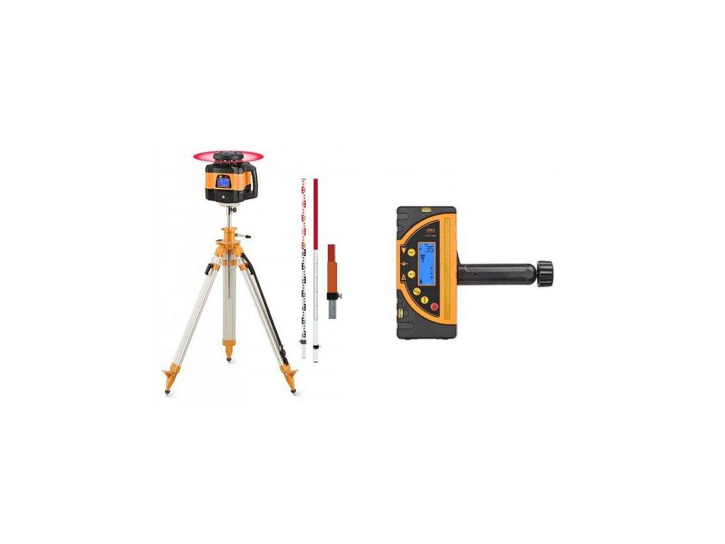 Profi dualny sklonovy laser Geofennel FL 155H-G s profi (mm) prijímačom