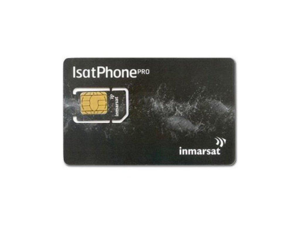 Tarifná SIM karta siete Inmarsat GSPS (základná tarifa)