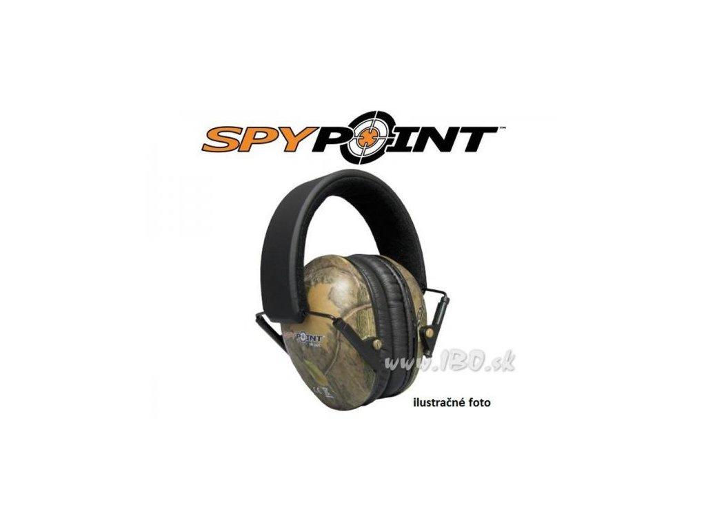 Ochrana sluchu Spy Point EM - 24 čierna