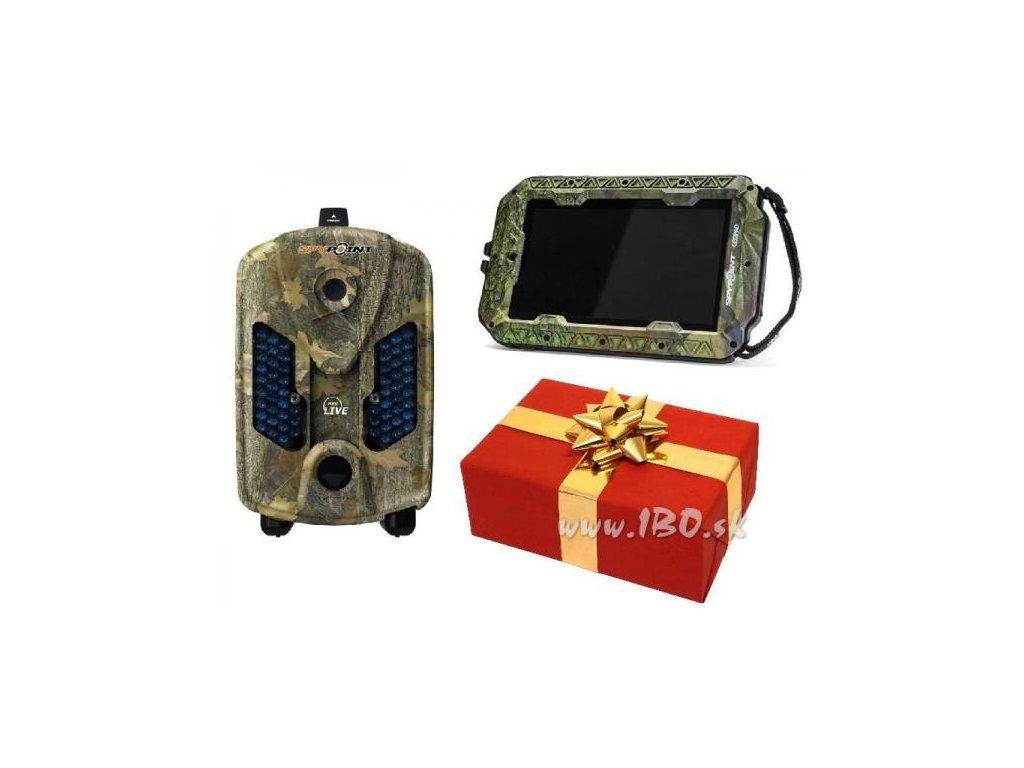 Akciový darčekový balíček - Fotopasca Spypoint+Tablet Spypoint