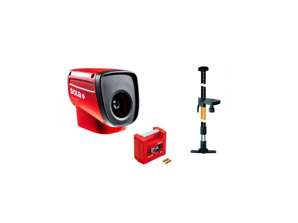 Čiarový laser - Sola SMART + rozperná tyč