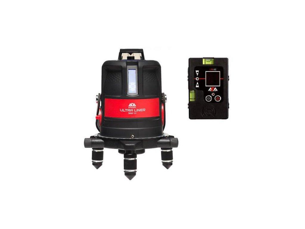 Krížový laser ADA Ultraliner 4V + prijímač