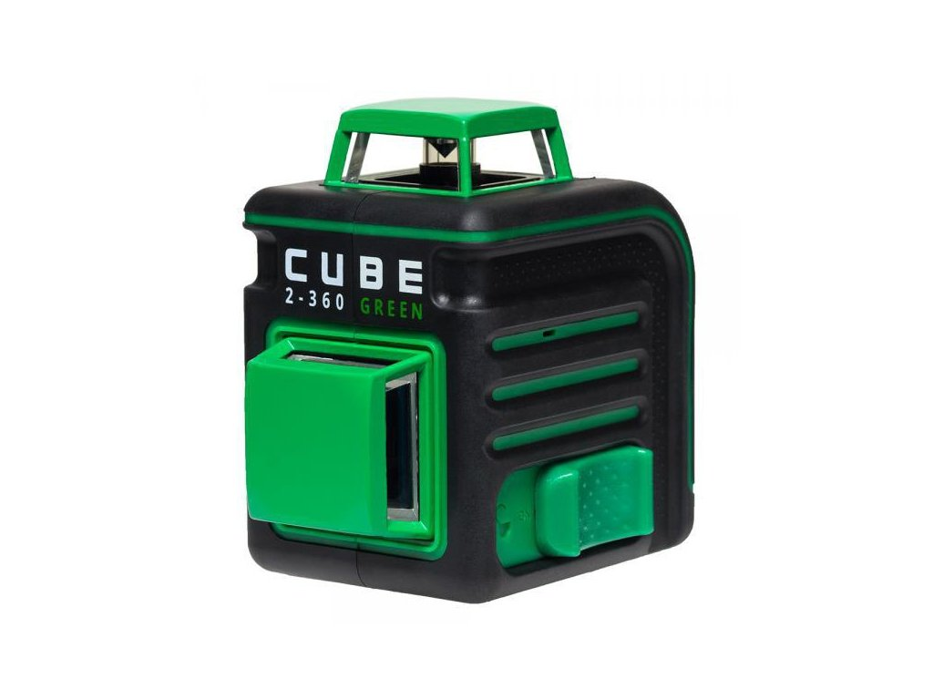 Křížový laser ADA Cube 2-360 Ultimate - Zelený lúč
