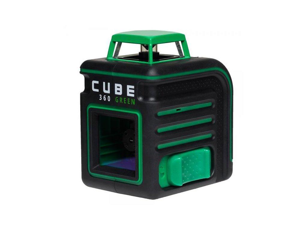 Krížový laser ADA Cube 360 Ultimate - Zelený lúč