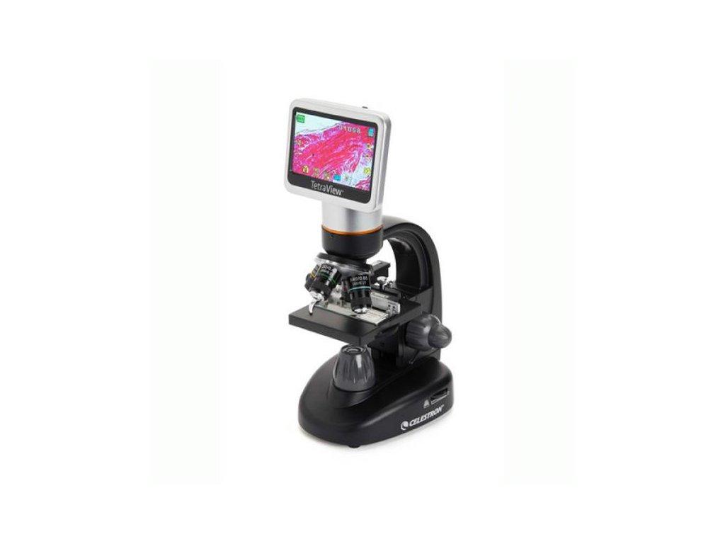 Celestron - TetraView LCD profi digit. mikroskop