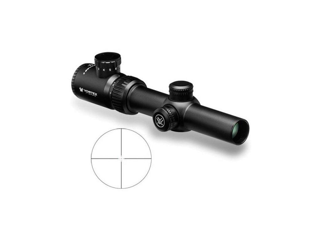 Vortex - Crossfire ll 1-4x24, V Brite ,MOA