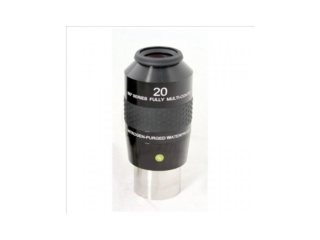 Okulár Explore Scientific 100° 20mm (2in)