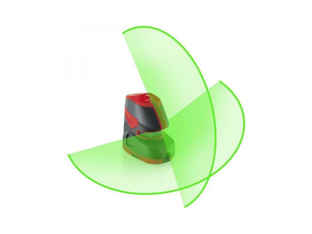 Krížový laser Leica LINO L2G + so zeleným lúčom