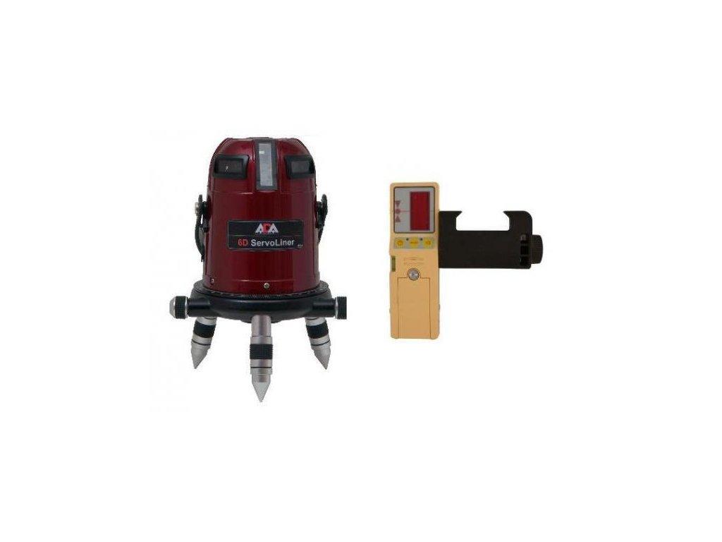 Krížový laser ADA 6D Servoliner s pijímačom