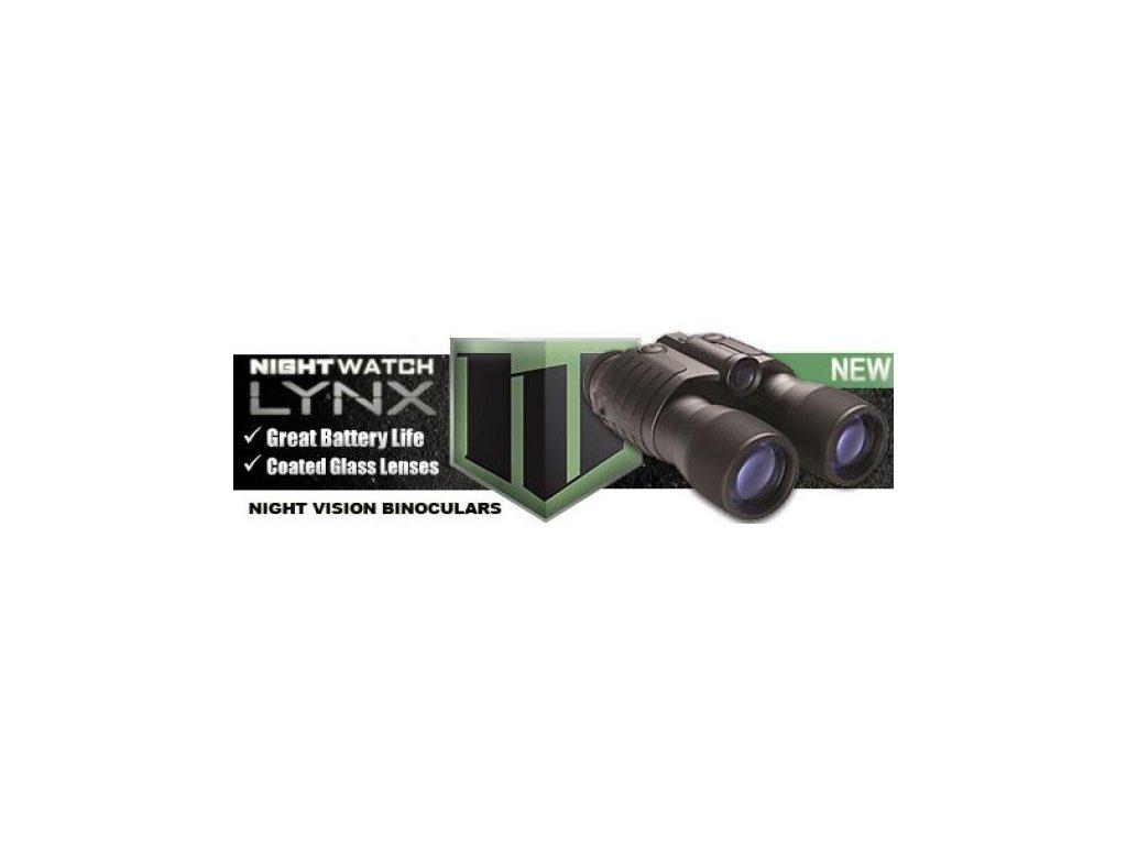 Binokulárne nočné videnie BUSHNELL I.GEN LYNX 2,5x40