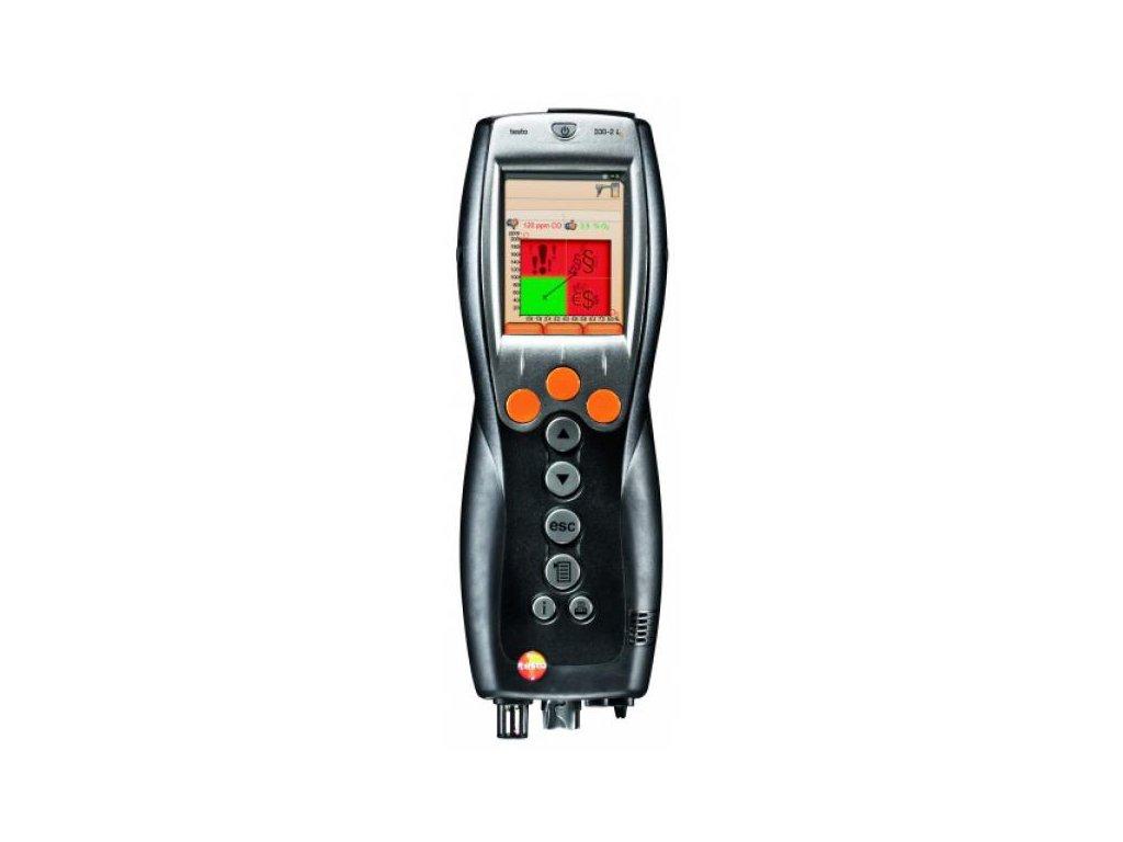 testo 330-1LL analyzátor spalín SET + tlačiareň, Bluetooth a softvér