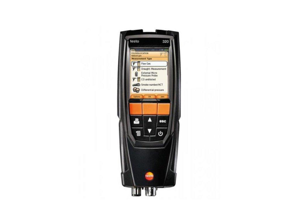 Testo 320 analyzátor spalín set s tlačiarňou a funkciou Bluetooth