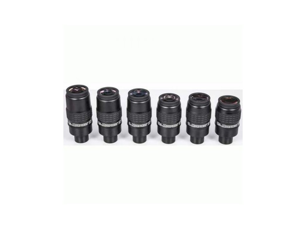 Complete eyepiece-Set Baader MORPHEUS® 76°, consis