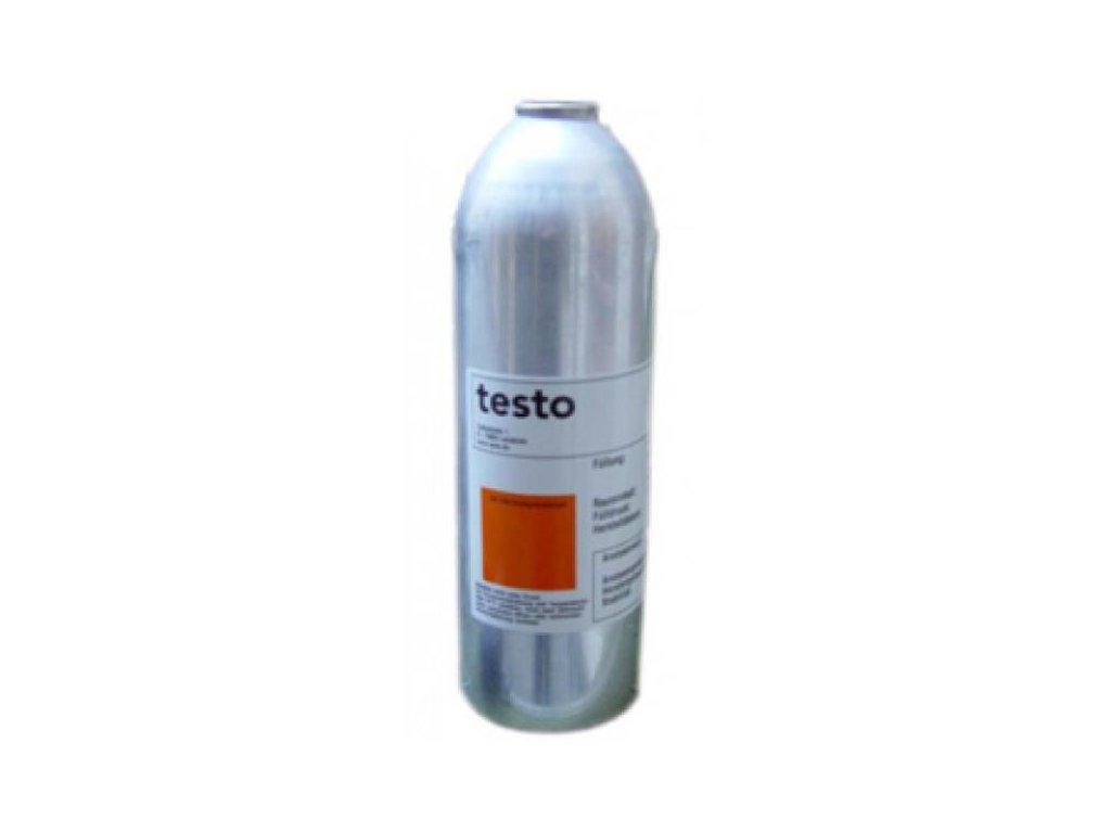 Tlaková fľaša so skúšobným plynom, 1 liter, 1 obj.% CH4