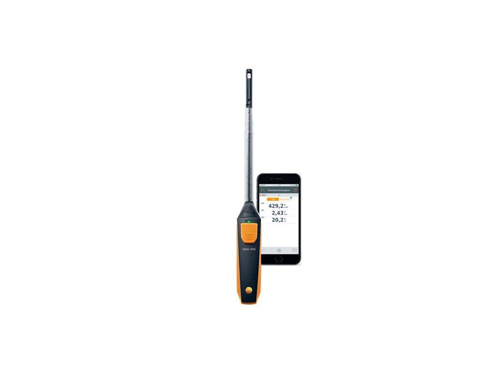 Testo 405i termický anemometer ovládaný cez smartphone