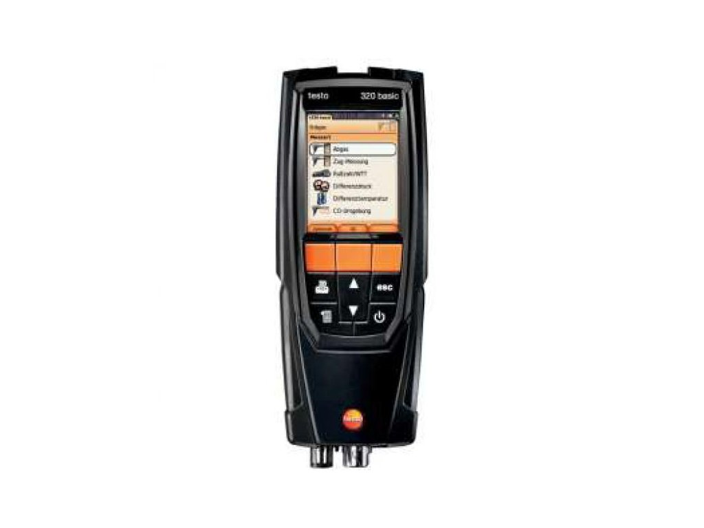 Testo 320 BASIC analyzátor spalín set