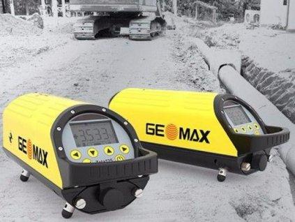 Kanálový laser Geomax Zeta 125 s