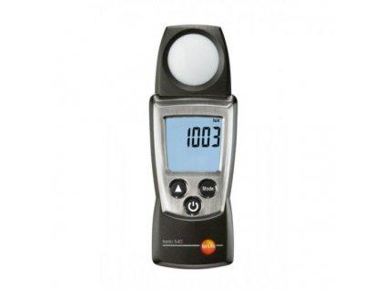 Testo 540 meranie intenzity osvetlenia