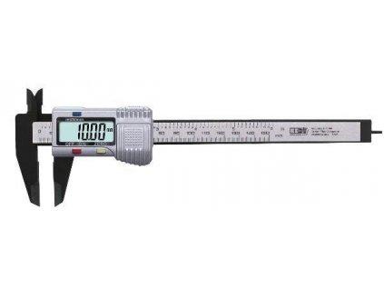 Digitálne posuvné meradlo 150mm Carbon