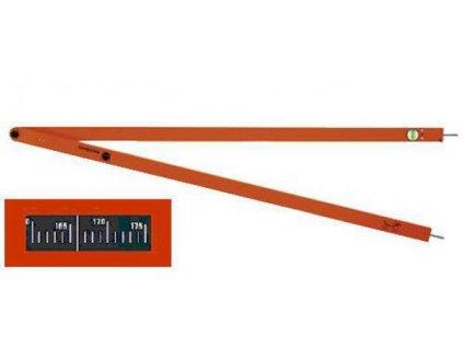Uhlomer analógový - WINKELFIX LONG 1500mm
