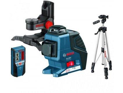 Krížový laser BOSCH GLL 3-80C + BM1 + LR7 + STATÍV