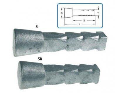 Čapová značka do muriva 130 mm