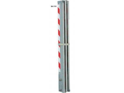 Hliníková kontrolná lata 4m / 1,33 m