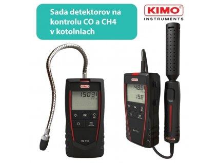 Sada na detekciu KIMO FG110 + KIMO CO110